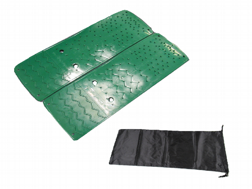 Monster Traction Mat Tyre Grip with Storage Bag - 3 in 1  Caravan Motorhome Mud Snow Ice Sand